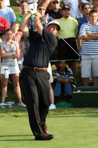 Phil Mickelson... does a lot of endorsements