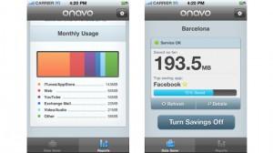Screentshots of the Onavo Counter App