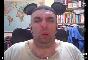 Anibalf will sing you a depressing rendition of Happy Birthday, while dressed as a mouse